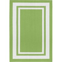 Borderline Indoor/Outdoor Area Rug