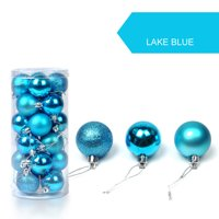 Outtop 30mm Christmas Xmas Tree Ball Bauble Hanging Home Party Ornament Decor