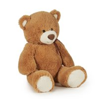 Way To Celebrate Valentine's Day Jungle Plush, Brown Bear
