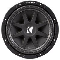 Kicker 43C104 10-Inch 300 Watts Max Power Single 4 Ohm Car Subwoofer