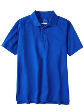 Boys School Uniform Short Sleeve Performance Polo