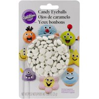 (3 Pack) Wilton Candy Eyeballs, Small