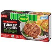 Jennie-O 1/3 lb. Seasoned Turkey Burgers, 32 Ounce