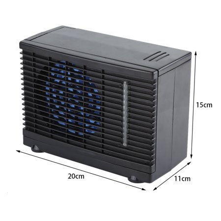 Dilwe Portable 12V Car Truck Home Mini Air Conditioner Evaporative Water Cooler Cooling Fan , Evaporative Air Conditioner,Car Conditioner Fan](Car Fangs)