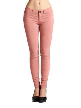 Emmalise Women's Basic Jean Look Jeggings Tights Spandex Skinny Leggings Bottoms