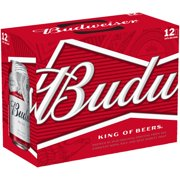 Budweiser Beer, 12 pack, 12 fl oz