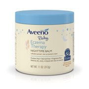 Aveeno Baby Eczema Therapy Nighttime Balm with Natural Oatmeal, 11 oz.