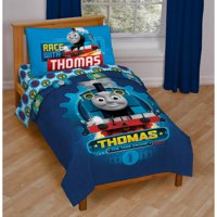 Thomas and Friends 4-Piece Toddler Bedding Set