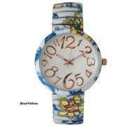 d20f36891 Olivia Pratt Womens Floral Stretch Watch. Price