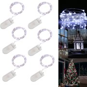 934a3bbdba1a EEEKit LED Copper Lights, 6-Pack 20 LEDs Battery Operated Fairy String  Lights,