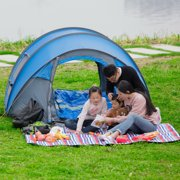 7e6ce3dc3d0 Finether 5-Person Pop Up Tent Outdoor Ultralight Waterproof Family Tent All  Season Camping Shelter
