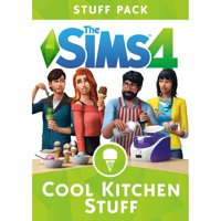 The Sims 4 Cool Kitchen Stuff Pack (Digital Code) Electronic Arts
