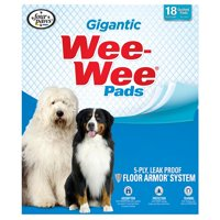 Four paws xl wee-wee pads, 27.5 in x 44 in, 40 count