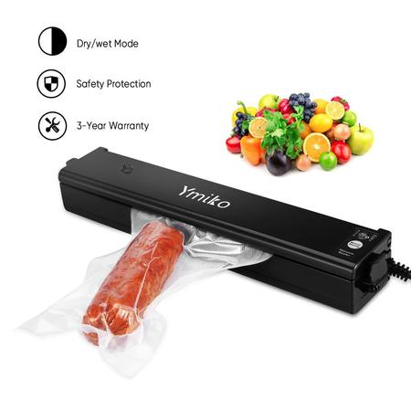 - HERCHR Vacuum Sealer, Handheld Food Sealer Machine Food Saver and Bags - 2 IN 1 Vacuum Sealing System for Food Preservation - Easy to Use - Dry & Moist Food Modes