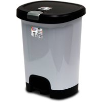 Trash Cans Recycle Bins Walmartcom