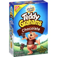 (2 Pack) Nabisco, Teddy Grahams Snacks Chocolate
