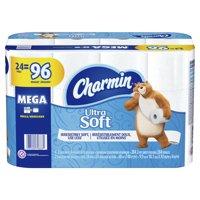 Charmin Ultra Soft Toilet Paper 24 Mega Roll, 284 Sheets Per Roll