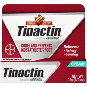 Tinactin Athlete's Foot Antifungal Treatment Cream, 0.5 Ounce Tube