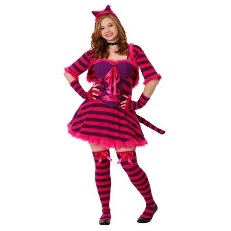 Plus Size Sexy Wonderland Cat Costume - Cat Costume Plus Size