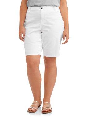 Women's Plus Basic Bermuda Short