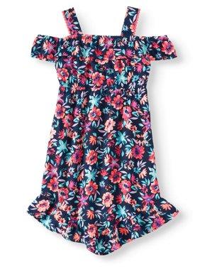 Cold Shoulder Dress (Little Girls, Big Girls & Big Girls Plus)