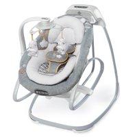 2-in1 SmartSize Baby Swing & Rocker Boutique Collection in Bella Teddy