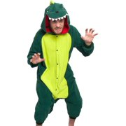 SILVER LILLY Unisex Adult Plush Animal Cosplay Costume Pajamas (Dinosaur) dea7dd3dd