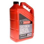 Motorcraft Super Duty Diesel Motor Oil 10W30 5-Quart Jug