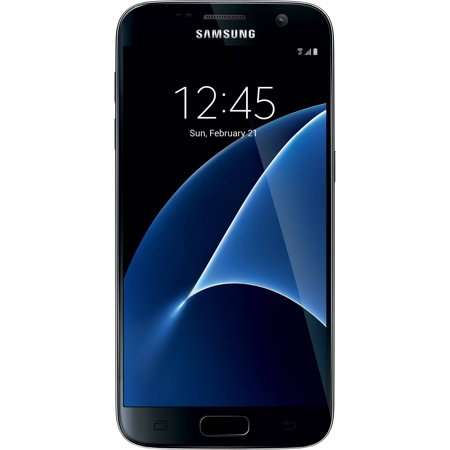 Straight Talk Samsung Galaxy S7 32GB Prepaid Smartphone, Black ()