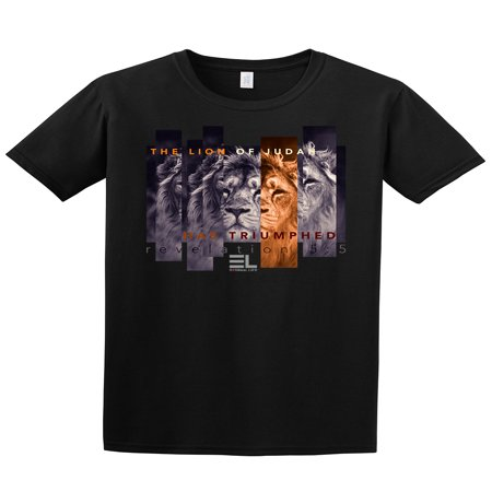 - The Lion of Judah Has Triumphed Christian Adult T-Shirt