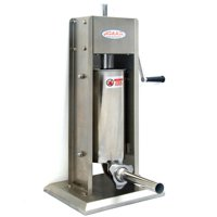 Hakka 11 Lb/5 L Sausage Stuffer 2 Speed Stainless Steel Vertical Sausage Maker