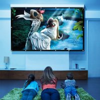 100'' 16:9 Portable Movie Screen Projector Screen Home Cinema Outdoor