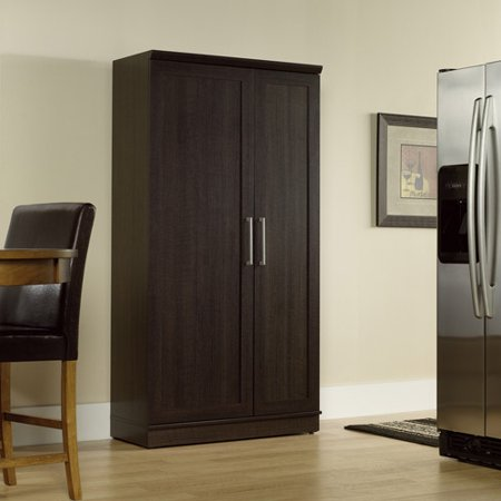 Sauder Homeplus Storage Cabinet Dakota Oak Finish