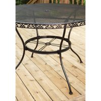 Better Homes and Gardens Wrought Iron Outdoor Dining Table