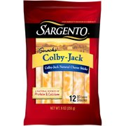 Sargento Colby-Jack Snacks, 12 count, 9 oz