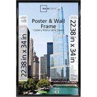 Mainstays 22x34 Trendsetter Poster and Picture Frame, Black
