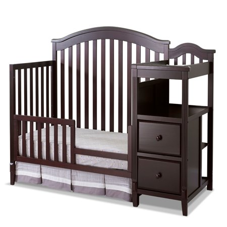 Sorelle Berkley 4 in 1 Crib and Changer - Espresso