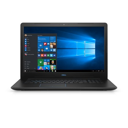 "Dell G3 Gaming Laptop 17.3"" Intel Core i7-8750H, NVIDIA GeForce GTX 1050Ti, 16GB RAM, 128GB SSD + 1TB HDD WIN 10, G3779-7927BLK-PUS"