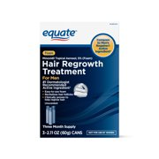 Equate Men's Minoxidil Foam for Hair Regrowth, 3-Month Supply