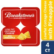 Breakstone's 2% Low Fat Pineapple Cottage Cheese, 4 Oz., 4 Count