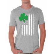 6ee5b18e Awkward Styles Irish American Shirt St. Patrick's Day T-Shirts for Men  Shamrock Green