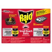 Raid Double Control, Small Roach Baits and Raid Plus, Egg Stoppers, 12 count + 3 count