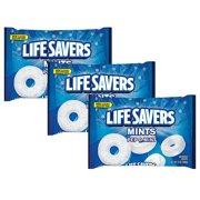 (3 Pack) Life Savers, Pep-O-Mints Candy, 13 Oz