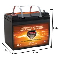 VMAX857 AGM Deep Cycle Group U1 Battery Replacement for Electric Mobility UltraLite Scooter Model 115 12V 35Ah Battery