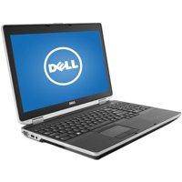 """Refurbished Dell Black 15.6"""" Latitude E6530 WA5-0856 Laptop PC with Intel Core i7-3720QM Processor, 16GB Memory, 256GB Solid State Drive and Windows 10 Pro"""