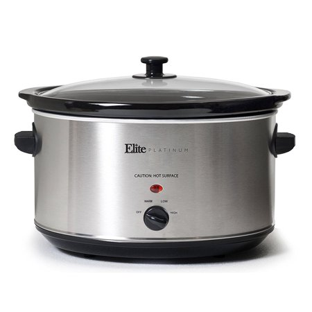 Maxi-Matic Elite Platinum MST-900V 8.5 Quart Stainless Steel Oval Slow Cooker