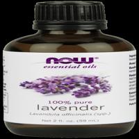 NOW Pure Essential Oils, Lavender, 2 Oz