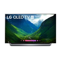 "LG 55"" OLED 4K HDR Smart OLED TV w/AI ThinQ - OLED55C8PUA"