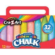 Cra-Z-Art Washable Sidewalk Chalk - 32 Count