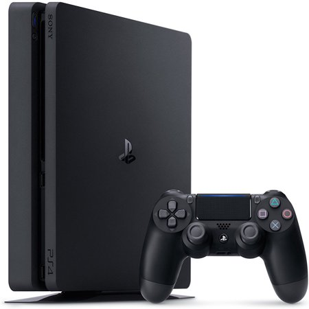 Sony PlayStation 4 Slim 1TB Gaming Console, Black, CUH-2115B